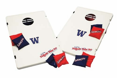 Washington Tailgate Toss 2.0 Cornhole Beanbag Game