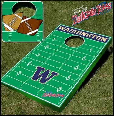 Washington Tailgate Toss Cornhole Beanbag Game