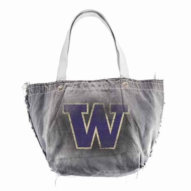 Washington Vintage Tote (Black)