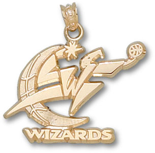 Washington Wizards 14K Gold Pendant