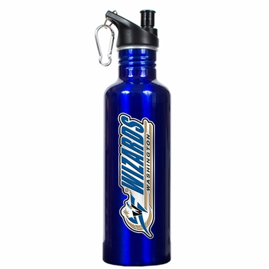 Washington Wizards 26oz Stainless Steel Water Bottle (Team Color)