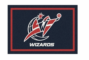 "Washington Wizards 3'10"" x 5'4"" Premium Spirit Rug"