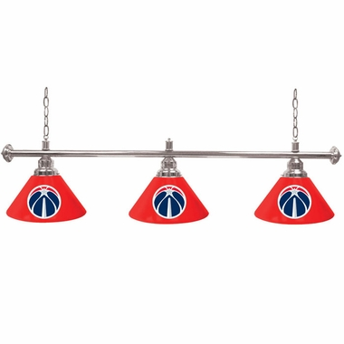 Washington Wizards 3 Shade Billiard Lamp
