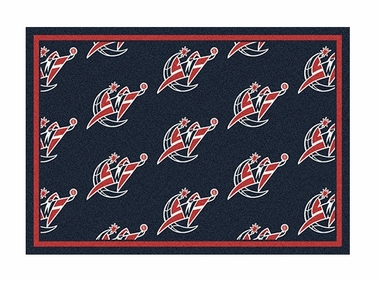 "Washington Wizards 5'4"" x 7'8"" Premium Pattern Rug"