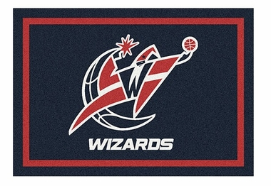 "Washington Wizards 5'4"" x 7'8"" Premium Spirit Rug"