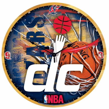 Washington Wizards Big 18 Inch Hi Definition Clock