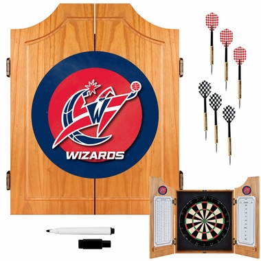 Washington Wizards Complete Dart Cabinet