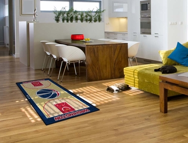 Washington Wizards Court Runner Rug