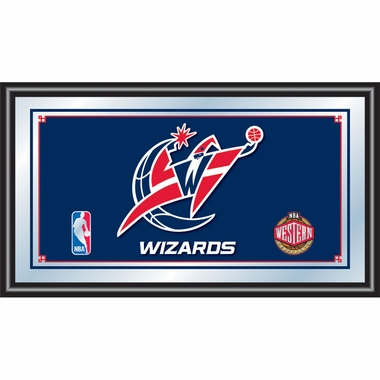 Washington Wizards Framed Logo Bar Mirror
