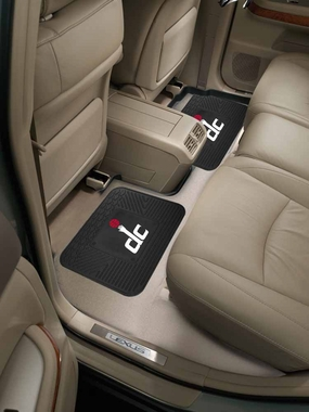 Washington Wizards SET OF 2 Heavy Duty Vinyl Rear Car Mats