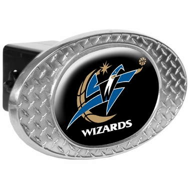 Washington Wizards Metal Diamond Plate Trailer Hitch Cover
