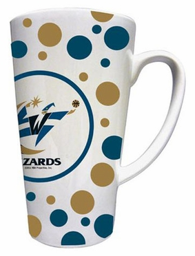 Washington Wizards Polkadot 16 oz. Ceramic Latte Mug