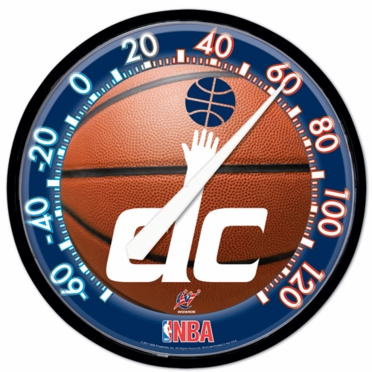 Washington Wizards Round Wall Thermometer