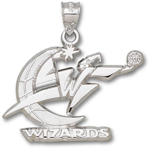 Washington Wizards Sterling Silver Pendant
