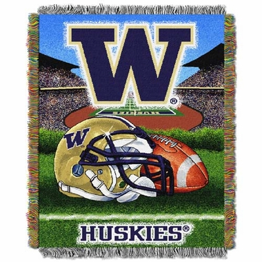 Washington Woven Tapestry Blanket