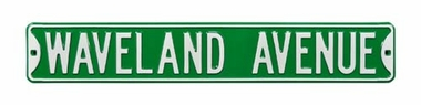 Waveland Ave Street Sign