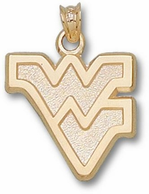 West Virginia 10K Gold Pendant