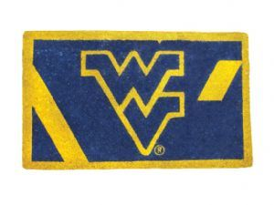 West Virginia 18x30 Bleached Welcome Mat