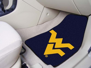 West Virginia 2 Piece Car Mats