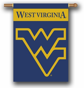 West Virginia 2 Sided Banner (P)