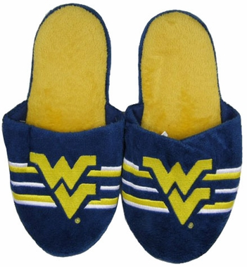 West Virginia 2011 Team Stripe Slide Slippers