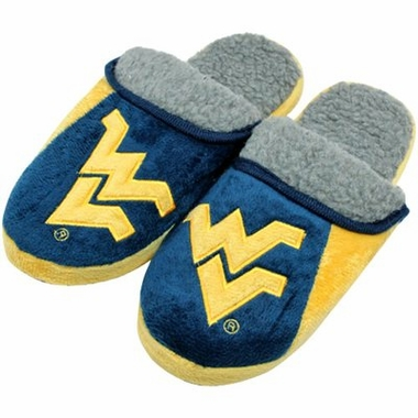 West Virginia 2012 Sherpa Slide Slippers