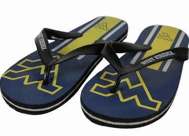 West Virginia 2012 Unisex Big Logo Flip Flops