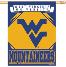 "West Virginia Mountaineers 27""x37"" Banner"