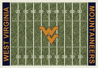 "West Virginia 7'8"" x 10'9"" Premium Field Rug"