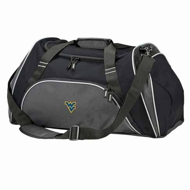 West Virginia Action Duffle (Color: Black)