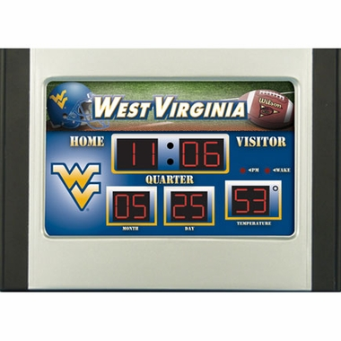 West Virginia Alarm Clock Desk Scoreboard