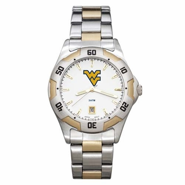 West Virginia All Pro Two Tone Watch