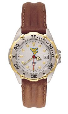 West Virginia All Star Womens (Leather Band) Watch