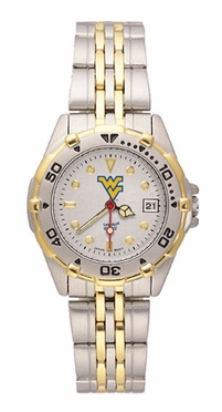 West Virginia All Star Womens (Steel Band) Watch