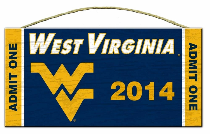 West Virginia Alumni Class Of Sign