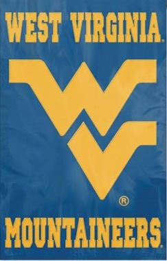 West Virginia Applique Banner Flag