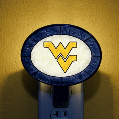 West Virginia Art Glass Night Light