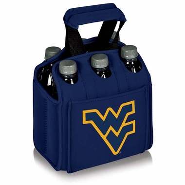 West Virginia Beverage Buddy (6pk) (Navy)
