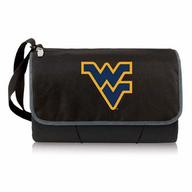 West Virginia Blanket Tote (Black)