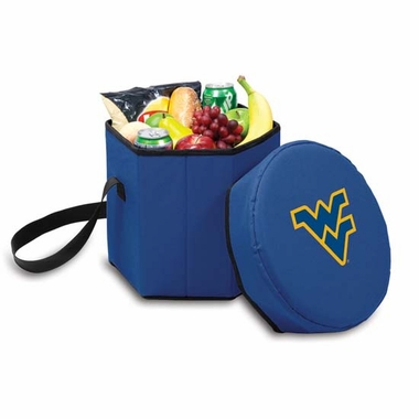 West Virginia Bongo Cooler / Seat (Navy)