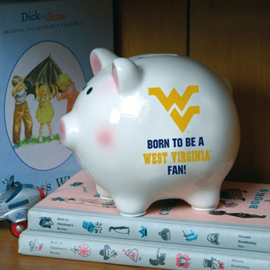 West Virginia (Born to Be) Piggy Bank