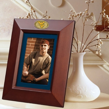 West Virginia BROWN Portrait Picture Frame