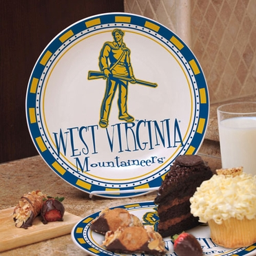 West Virginia Ceramic Plate