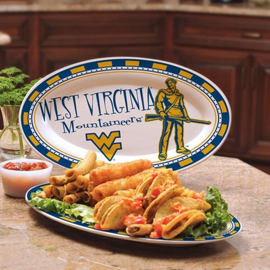 West Virginia Ceramic Platter