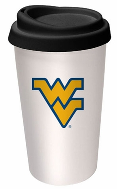West Virginia Ceramic Travel Cup