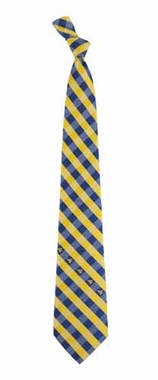 West Virginia Check Poly Necktie