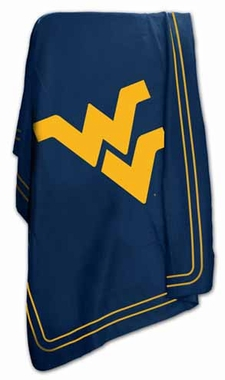 West Virginia Classic Fleece Throw Blanket