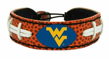 West Virginia Classic Football Bracelet
