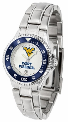 West Virginia Competitor Women's Steel Band Watch