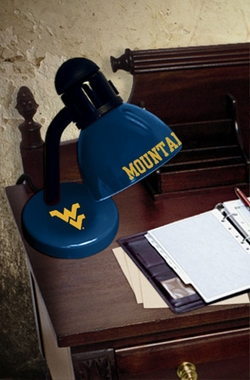 West Virginia Dorm Lamp